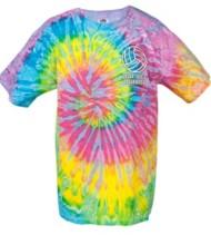 Women's Tandem Tie Dye Volleyball T-Shirt
