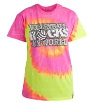 Women's Tandem Volleyball Rocks T-Shirt