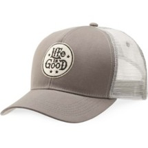 Women's life is good. Circle Hard Mesh Back Chill Cap