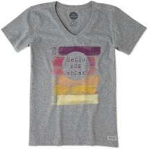 Women's life is good. Hello Sunshine Crusher Short Sleeve Shirt