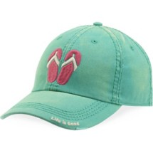Women's life is good. Flip Flops Sunwashed Chill Cap