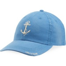 Women's life is good. Anchor Sunwashed Chill Cap