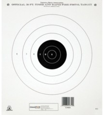 Champion NRA Rapid Fire Target
