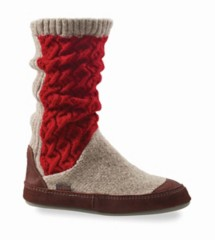 Women's Acorn Slouch Boot Slippers