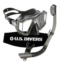 U.S. Divers Mask and Snorkel Combo
