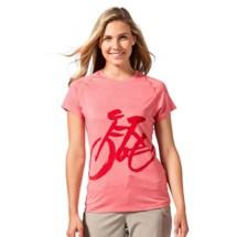 Women's Terry Tech Tee Biking Shirt