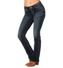 Women's Silver Jeans Elyse Mid Slim Boot Jean