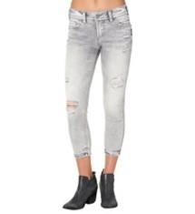 Women's Silver Jeans Elyse Skinny Crop