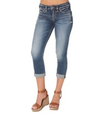Women's Silver Jeans Aiko Capri