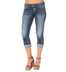 Women's Silver Jeans Suki Capri