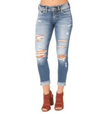 Women's Silver Jeans Suki Crop