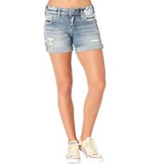 Women's Silver Jeans Sam Boyfriend Short