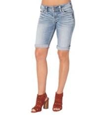 Women's Silver Jeans Suki Bermuda Short