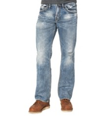 Men's Silver Jeans Zac Relaxed Fit Medium Wash Jean