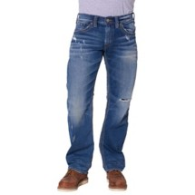 Men's Silver Jeans Zac Relaxed Fit/Straight Leg Jean