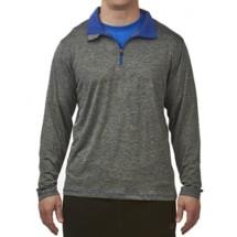 Men's Colosseum 1/4 Zip Long Sleeve Shirt