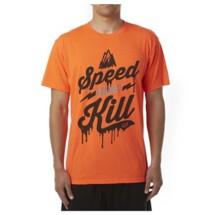 Men's Fox Speed Wobble Tech Tee Biking Shirt