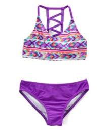 Youth Girls' St. Tropez Beach Haven Bikini Set