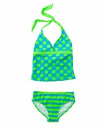 Youth Girls' St. Tropez Luau Tankini Set