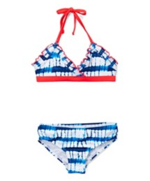 Youth Girls' St. Tropez Tie Dye Surfside Bikini Set