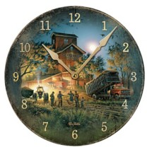 Wild Wings Terry Redlin Bountiful Harvest Clock