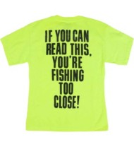 Men's Bonehead Outfitters Fishing Too Close T-Shirt