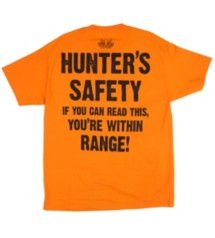 BoneHead Outfitters Adult Hunting Too Close T-Shirt