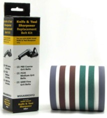 Work Sharp Assorted 6 Pack Sanding Belts