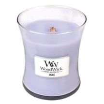 WoodWick Lilac 9.7 oz. Jar Candle