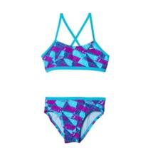 Youth Girls' Nike Graphic Crossback Bikini