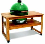 Big Green Egg Acacia Hardwood Table for XLarge Egg