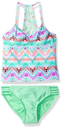 Youth Girls' Gossip Girl Desert Mirage Tankini Set