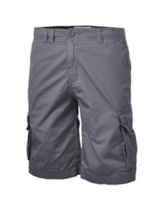 Men's Seeded & Sewn Stretch Grey Cargo Shorts