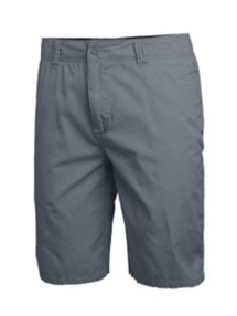 Men's Seeded & Sewn Stretch Grey Chino Short