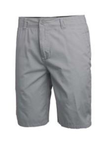 Men's Seeded & Sewn Stretch Light Grey Chino Short