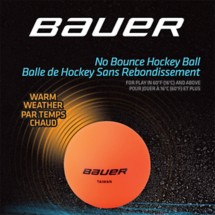 Bauer No Bounce Hockey Ball
