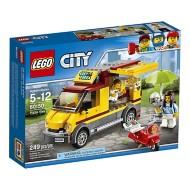 LEGO City Great Vehicles Pizza Van Construction Building Kit