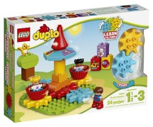 LEGO DUPLO My First Carousel Building Block Kit