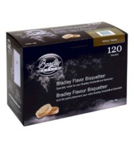 Bradley Smoker 120 Pack Flavor Bisquettes