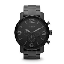 Men's Fossil Nate Chronograph Stainless Steel Watch