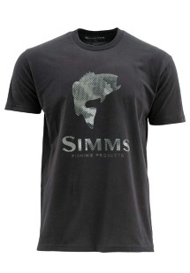 Men's Simms Hex Camo Bass T-Shirt