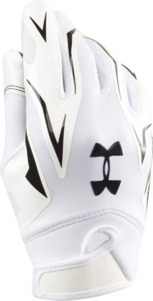 Youth Under Armour F4 Football Gloves