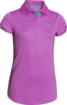 Youth Girls' Under Armour Mirage Polo