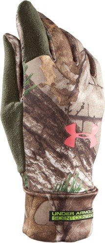 Women's Under Armour Scent Control Hunting Gloves