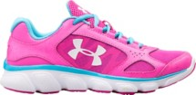 Youth Girls' Under Armour Micro G Assert V Running Shoes