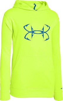 Youth Boys' Under Armour Storm Fish Hook Hoodie