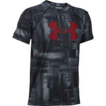 Youth Boys' Under Armour Big Logo Printed T-Shirt