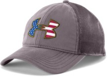 Men's Under Armour Big Flag Logo Mesh Cap