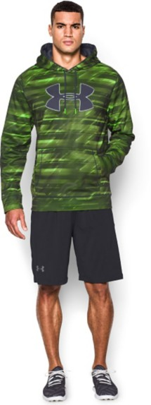 Men's Under Armour Storm ARMOUR Fleece Printed Big Logo Hoodie