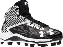 Men's Under Armour Deception Mid TPU Baseball Cleat